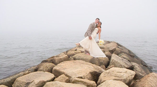 Pelham house beach wedding video
