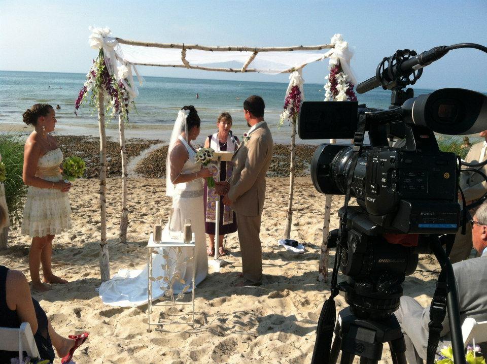 beach wedding cape cod